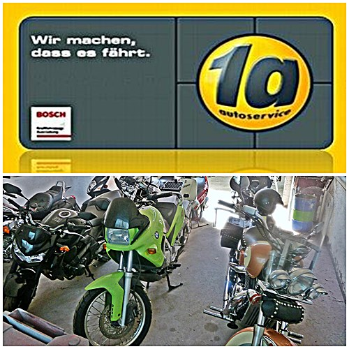 Z -Werbung Moto